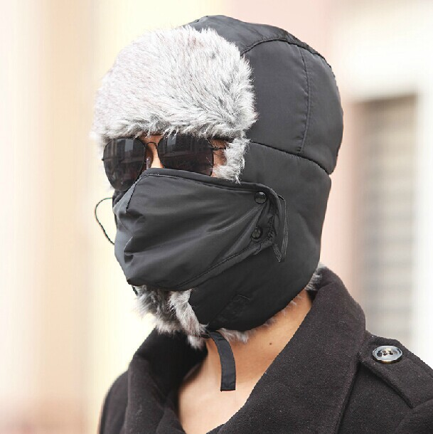 Winter Flap Hat - Unisex w  Face Cover - Tuesday Trader d10053a3986